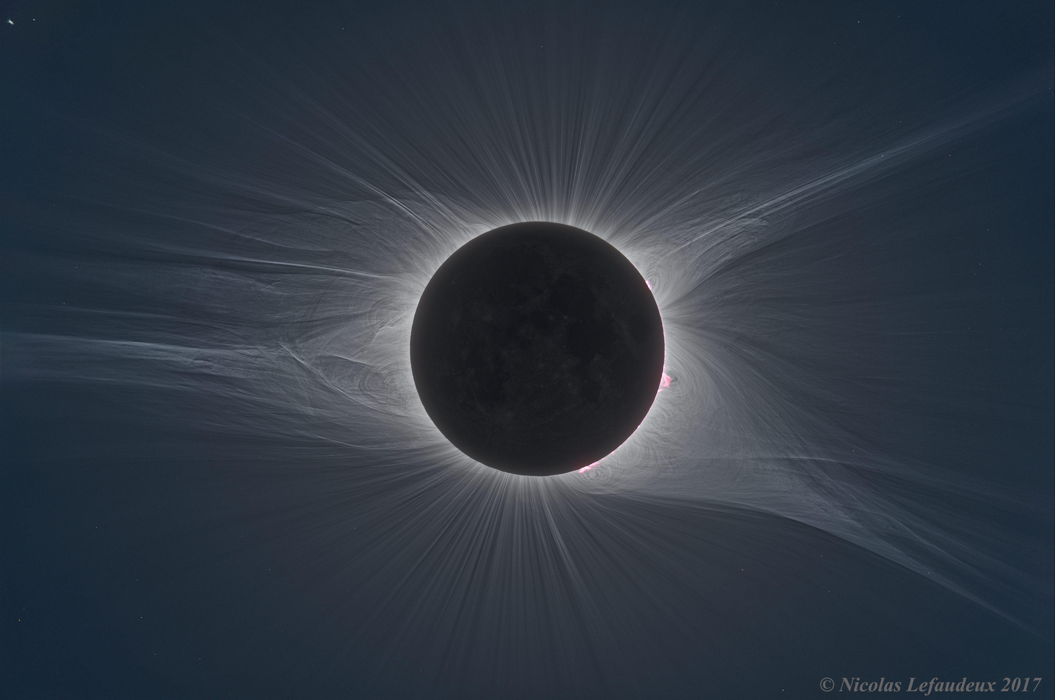 High Resolution 2017 Total Solar Eclipse Hdr Astrophotography By Nicolas Lefaudeux